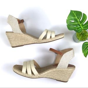 Lucky Brand Espadrilles Wedges Sandals Sz 8.5